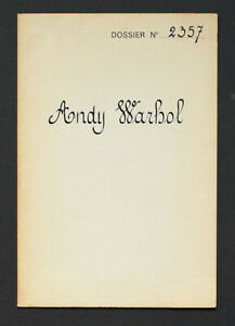 Andy Warhol, Dossier 2357: The Thirteen Most Wanted. Gallerie Sonnabend, 1967