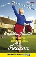 M C BEATON _ AGATHA RAISIN THE FIRST TWO TANTALISING CASES _ NEW __ FREEPOST UK