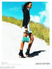 PUBLICITE ADVERTISING 056  2015  Louis Vuitton sac  l'ame du voyage