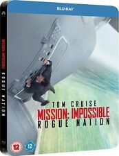 MISSION: IMPOSSIBLE, ROGUE NATION (Tom Cruise) Blu-ray Disc, Steelbook NEU+OVP