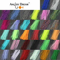 32 bags Fly Tying Material Crystal Flash Holographic Fishing Lure Tying Making