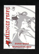 Illinois State Redbirds--2000-01 Tennis Pocket Schedule--Country Companies