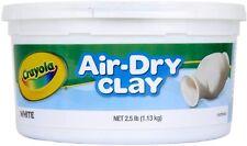 Crayola 1.13kg Air Dry Clay, White Colour
