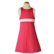 Bella Bliss Girls Coral Summer Shift Dress Size 5 Nwot