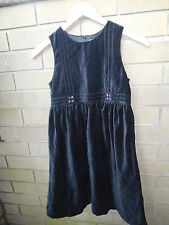 Gymboree Holiday Cheer Dress XXL 7 Black Velvet Classic Vintage NWT 2001 Holiday