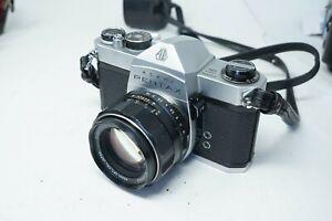 Japanese Vintage Pentax Spotmatic SP 500 Film Camera & 50mm F1.4 Lens