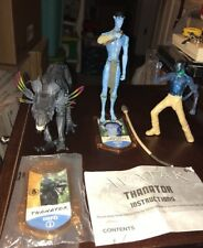 AVATAR JAMES CAMERON'S THANATOR AND JAKE SULLY FIGURES  COMPLETE AND MCD JAKE