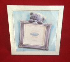 ME TO YOU BEAR / TATTY TEDDY SOFTLY DRAWN BLUE PHOTO FRAME GIFT