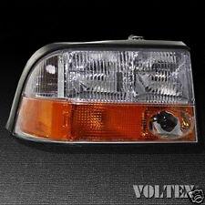 2000-2004 GMC Sonoma Jimmy Headlight Lamp Clear lens Halogen Passenger Right