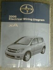 2006 SCION xA ELECTRICAL WIRING DIAGRAM