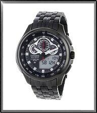 Citizen JW0097-54E Promaster Tachymeter  Eco Drive Black Dial Men's Watch $650