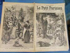 LE PETIT PARISIEN 1898 : 465 - CUBA WAR COLONEL ESPAGNOL PENDU EXECUTION