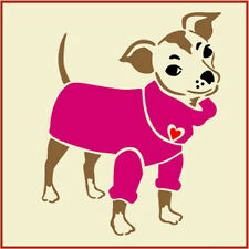 Chihuahua 1 Stencil - Pets -Dogs - The Artful Stencil