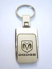 New Dodge Chrome Metal Logo Key Chain Ring Fob. Handsome, High Quality Keychain