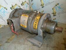 FREBALDOR 35E404-86 ¾ HP FR 56YZ 1725 RPM 3PH MOTOR W/ HM52A-A 29:1 GEAR REDUCER