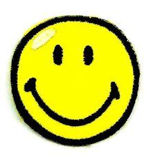 Applikation zum Aufbügeln  Bügelbild 3-098  Smiley klein