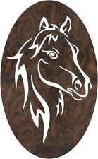 DXF CNC dxf for Plasma Router Vector Owl Horse Sil4 Man Cave Wall Decor