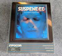 Suspended *sealed inside* IBM PC PCjr DOS Infocom vintage computer game 1984