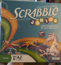 Parker Brothers Scrabble Junior Crossword Game - New Sealed- Free Shipping