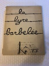 1941 LA LYRE BARBELEE THE BARBED WAND SIGNED EV GERMAIN ART WWII FRENCH /500