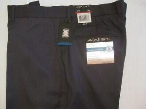 Straight fit Fl Fr Axist Ultra Series No IRON Navy Plaid Pant 34//30 #570-445