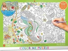 Jigsaw Puzzle Color Me Tropical Birds 500 pieces NEW Paint it Stress Relief