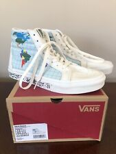 Vans SK8-Hi Reissue Shoes Save Our Planet Classic White US Men's 7 Women's 8.5