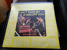 MAXI 12'' BOYS TOWN GANG - CAN'T TAKE MY EYES OFF YOU - HISPAVOX SPAIN 1982