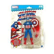 Marvel Legends Vintage 6 Inch Action Figure Wave 1 - Captain America