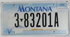 Authentisch Kennzeichen von Montana (383201A) USA Nummernschild