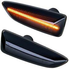 LED Indicators Black For Opel Astra J K Insignia B Zafira C [71012-1]