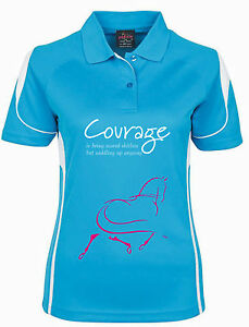 """***HDC**LADIES COOLDRI """"COURAGE"""" POLO , ALL SIZES AND COLOURS"""