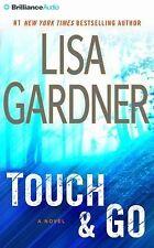 Lisa Gardner Touch & Go ~ABRIDGED 6 CD'S AUDIOBOOK