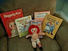 Vintage Raggedy Ann Books plus More!, Lot C