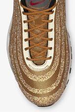 pretty nice e0d1e 6e4a8 Nike Air Max 97 (WMNS) Gold (dorée) Swarovski Crystal EU 40