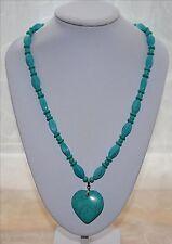 Modeschmuck-Halsketten & -Anhänger mit Türkis-Hauptstein für Damen