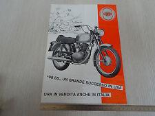 DEPLIANT BROCHURE ORIGINALE CAGIVA ALA ROSSA 350