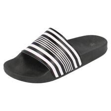 Sandales noires à enfiler pour garçon de 2 à 16 ans