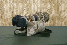 Large Camera Bean Bag & Shoulder Strap FILLED with Plastic Pellets&Poly balls