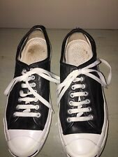 b3dbd0f9ab7b65 Converse Black Leather Athletic Shoes for Men for sale