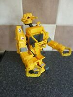 RETRO ALIENS RIPLEY'S POWER LOADER TOY FIGURE YELLOW VERY GOOD CONDITION FOR AGE