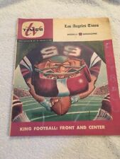 Los Angeles Times TV Guide Dec 27th  1964-1965 King Football :front And Center
