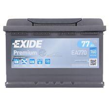 AUTOBATTERIE PKW-BATTERIE EXIDE EA770 PREMIUM CARBON BOOST 77-AH 760-A 31962394