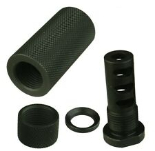 1/2X28 Thread Muzzle Brake With Tube Forwarder N Protector Outer Tpi