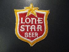 LONE STAR BEER classic vintage red shild PATCH sew on craft beer brewing brewery