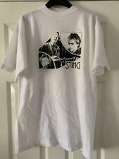 NOS Vintage Sting The Police T-Shirt Tee Shirt TShirt Rock 80s Rare SZ Medium