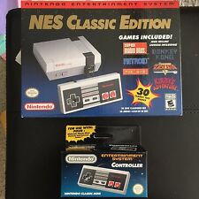 Modded NES Classic (715 games) + 2nd Nintendo Controller Bundle, Brand New!!