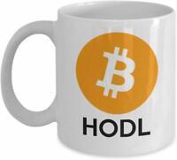 Bitcoin Mug - Cryptocurrency Coffee Mug - Satoshi Nakamoto Btc Bitcoin Hodl Mug