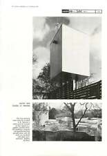 1962 Water Tank In The School And St Pancras Architect Stephen Gardiner