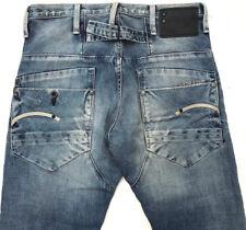 G-Star Raw Jeans 'BLADE SLIM' LIGHT AGED DESTROY W29 L32 EUC RRP $289 Mens/Boys